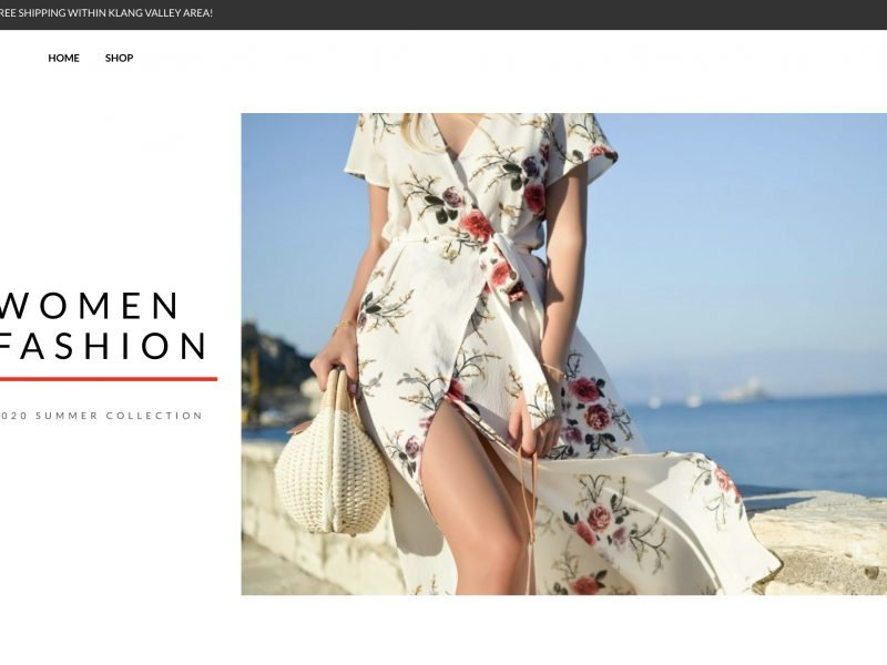 fashion web design